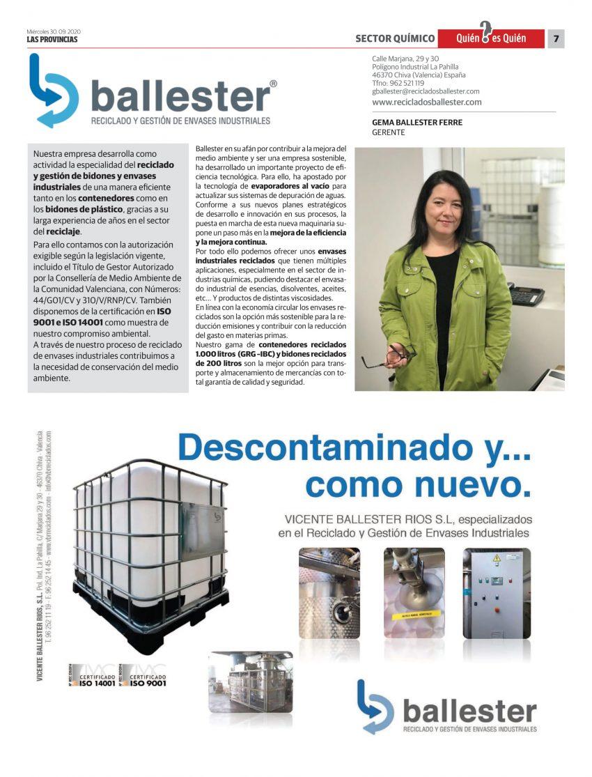 RECICLADOS BALLESTER